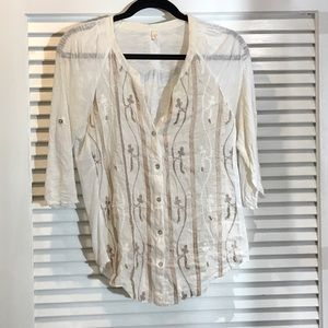 Tiny brand blouse from Anthropologie